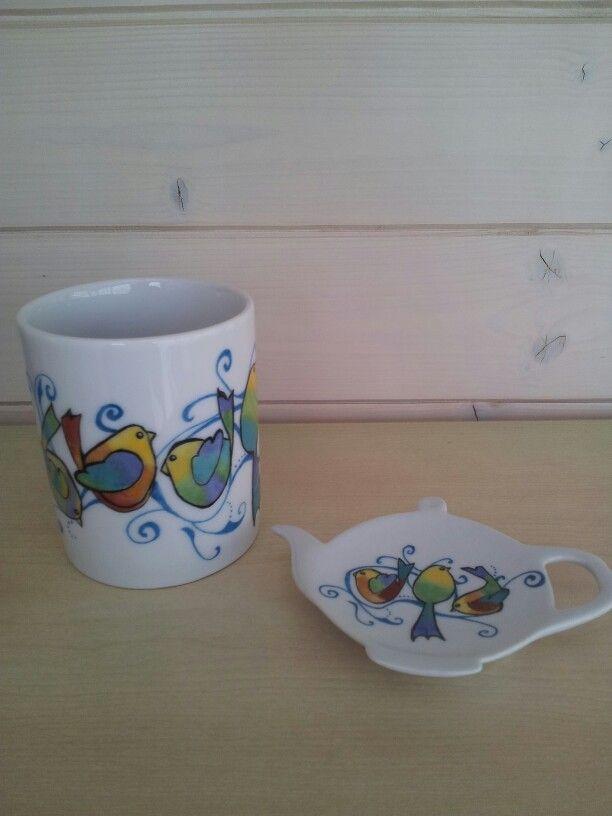Mug avec repose sachet thé