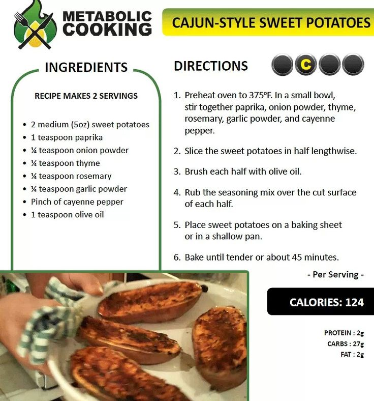 Cajun sweet potato