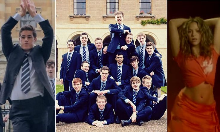 Fantastic! Oxford University students' cover of Shakira's hit Hips Don't Lie - Charity single in aid of Helen & Douglas House children's and young adults' hospice. Shakira tweeted her 000s of fans about this.