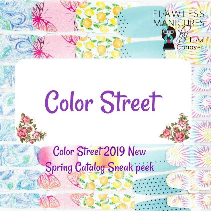 Nail Polish Catalog: New Color Street Spring 2019 Catalog Sneak Peek! Nail