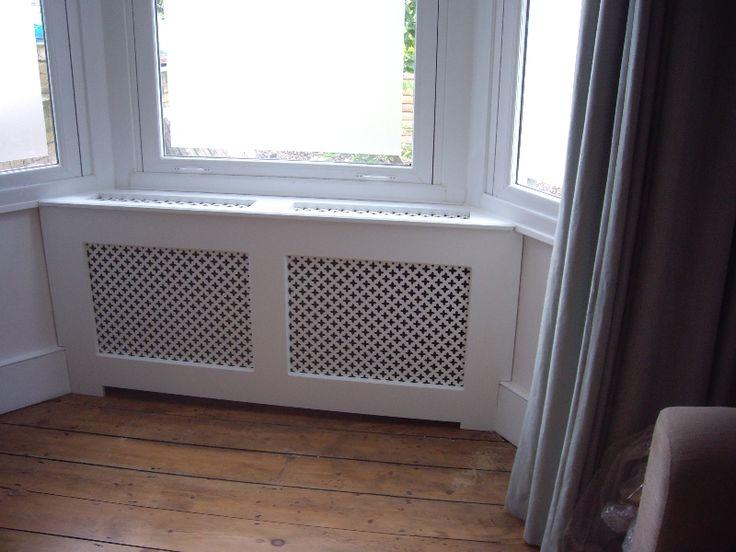 radiator covers in a bay window - Google Search
