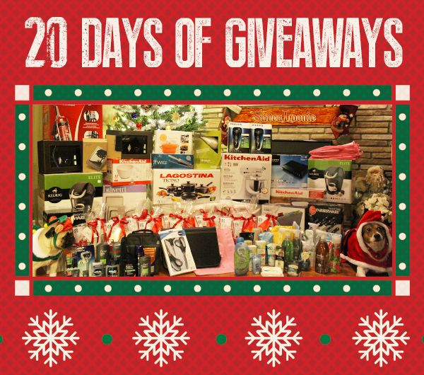 YAY!! 20 days of giveaways!