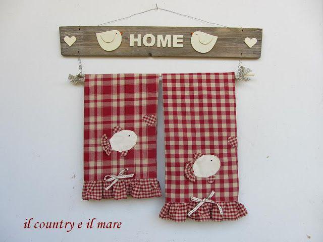 Il country e il mare: the country in the kitchen