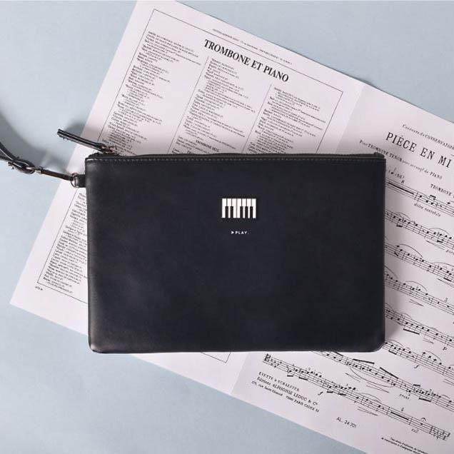 Piano Clutch Bag