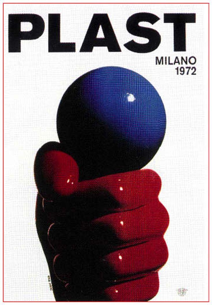 Armando+Testa.+Plast+poster,1972.jpg (1112×1600)