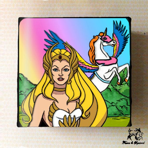 Shera Princess of Power Pop Culture by FawnandSquirrel on Etsy