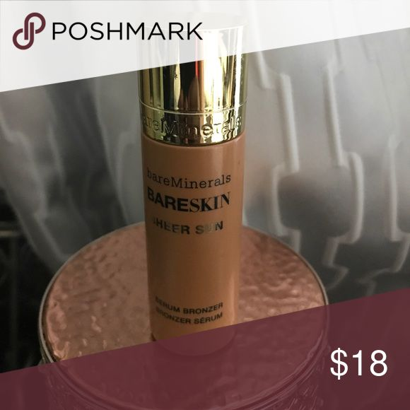 Bare Minerals Bare Skin Sheer Sun This is a serum bronzer that it great to mix into you foundation or skincare to get the kissed by the sun glow. This is brand new product with no box bareMinerals Makeup Bronzer