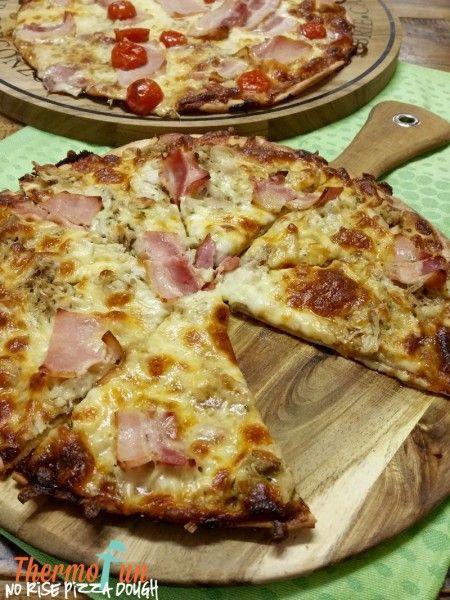 ThermoFun - MAD MONDAY - Easy NO Rise Pizza Base Recipe | ThermoFun | Thermomix Recipes & Tips
