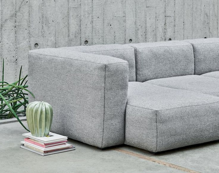 Mags sofa has many upholstery options which enables the sofa to ...