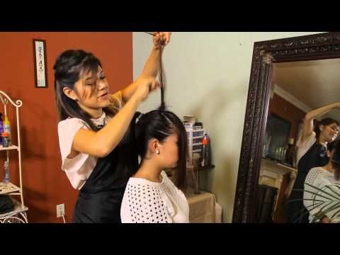 Video: How to Do the Front Poof Ponytail | eHow