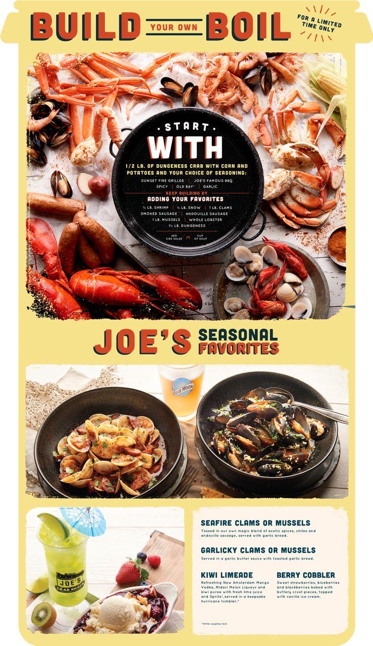 Joe's Crab Shack Seasonal Favorites