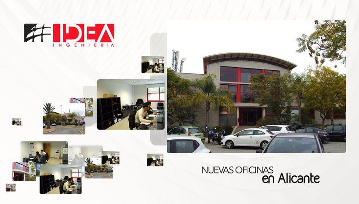 IDEA continúa con su crecimiento, tenemos nueva sede en Elche (Alicante) #Empresas #Ingeniería #Alicante