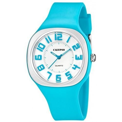 Calypso Uhr K5636/2 Armbanduhr türkis Damenuhr Calypso by Festina Uhr