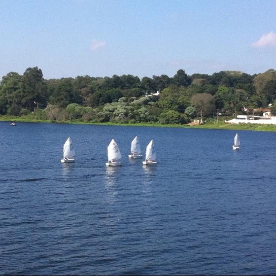 Optimist sailing boat for kids #sailing