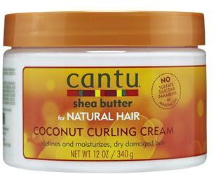 Cantu Shea Butter Coconut Curling Cream - No thrilled with the ingredients but so far this product makes for a good wash and go day. Step 1 - wash and condition with Pantene Step 2 - leave in condition with Tresemme moisture rich instant conditioner  Step 3 - seal with Cantu Coconut curling creme I find when I do this, I can skip the gel. Even my favorite Ecco gel causes me breakage.