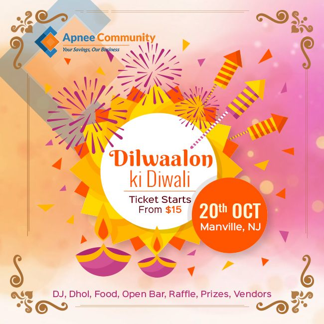 It S Time To Experience A Dazzling Celebration Of Lights Fireworks We Invite You All To Share The Diwali Celebrations At A Diwali Celebration Event Open Bar