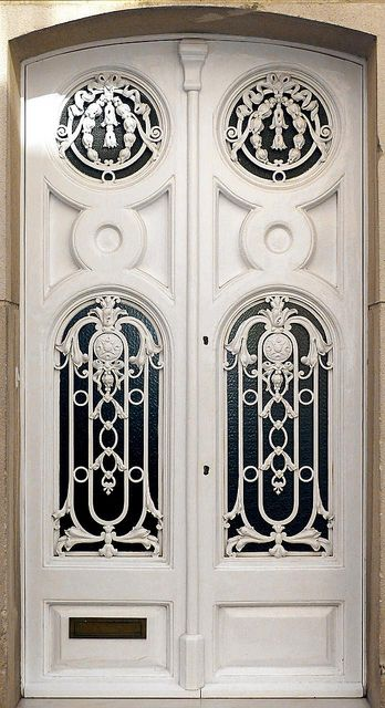 Barcelona  ~ Love to have this entrance but would have a different color. ~