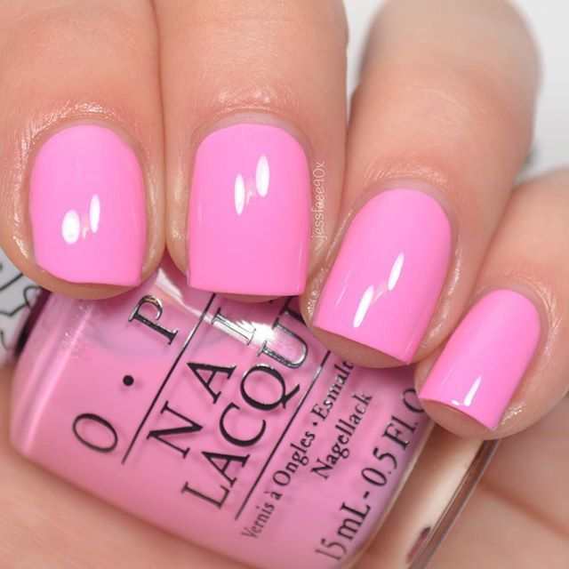 "opi ""Look At My Bow!"" from the Hello Kitty collection. – Hair, makeup, nails"