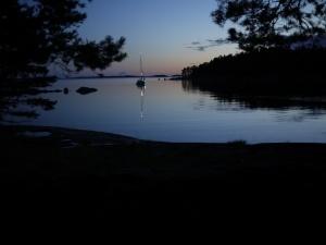 Finnish summer night magic