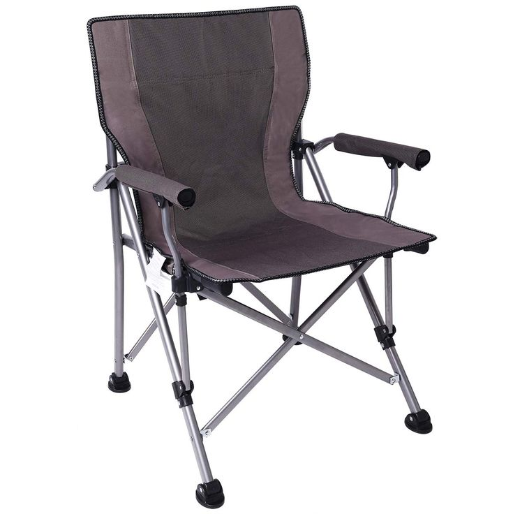Ablazer camping chair ergonomic high back support with