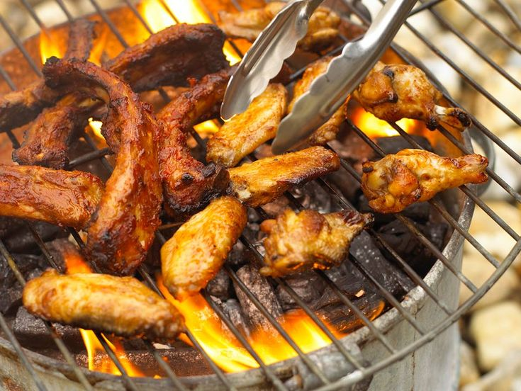 How to grill chicken wings!! They tasted amazing, I just used plan BBQ sauce because of kids