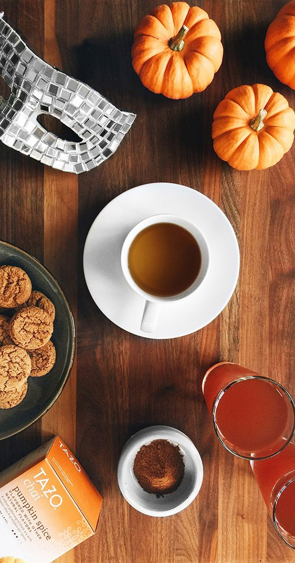 When you've finished handing out Halloween candy, treat yourself to some #SweetMeetsSpicy flavors, like the sweetness of ground cinnamon and the spice of gingersnap cookies found in Tazo® Pumpkin Spice Chai. bit.ly/1QlMShj