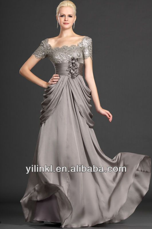 17 Best images about Silver & Gray Dresses for the Mother of the ...