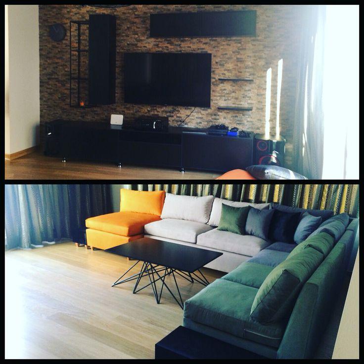 Mimarımız Batıkan Üretir bey ile Nish Adalar için yaptığımız mobilyalarımız ..
