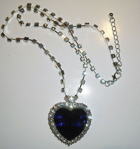 Titanic - Heart of The Ocean Necklace      -definitely getting this for my wedding necklace-