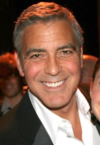 George Clooney - Born in Kentucky to a newsanchor father, he is the nephew of singer Rosemary Clooney. Clooney attended school in the Columbus and Mason Ohio areas and spent some time at the University of Cincinnati.