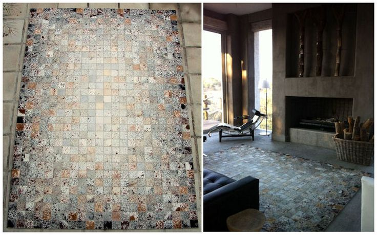 Mosaic stitch / Soft-centre layout / Splash hide / 2.2M X 3.2M / www.johnoduplessis.co.za