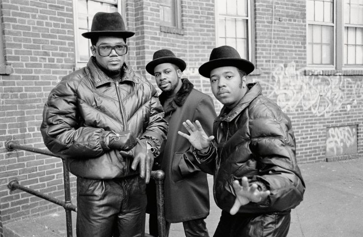 Run-DMC in Hollis, Queens, New York circa 1985. See other post-punk and hip hop icons before they made it big w/ @pbsnewshour.  (photo: Glen E. Friedman, courtesy of Rizzolli New York)