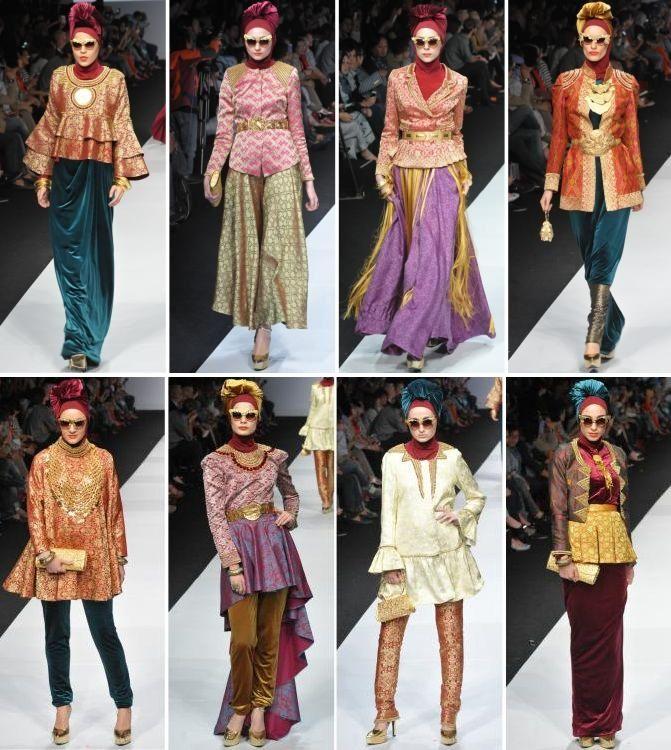 Balutan Karya Dian Pelangi Di Jakarta Fashion Week 2015