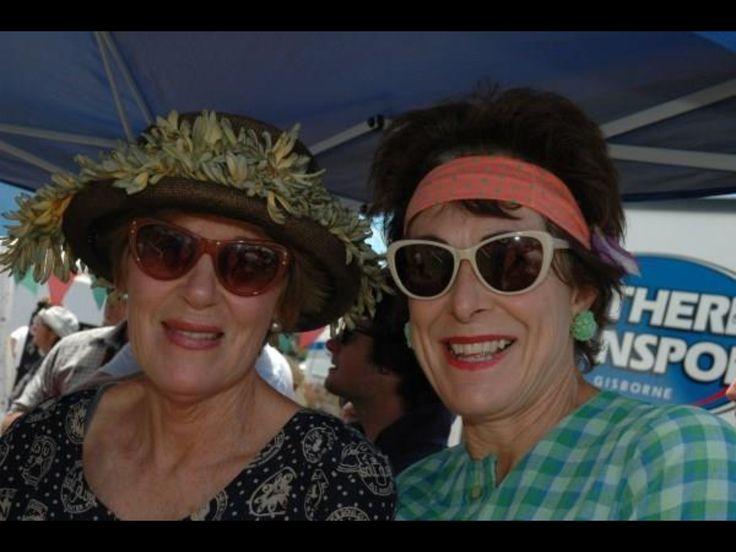 Sally Jefferd and Nikki Jefferd. At the Terrier Racing 2014