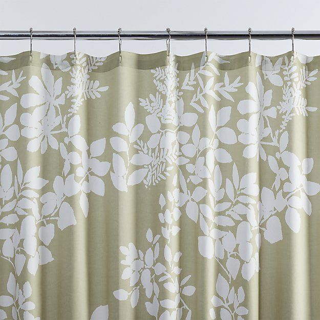 Shower Curtains crate and barrel shower curtains : 17 Best ideas about Green Shower Curtains on Pinterest | Elegant ...