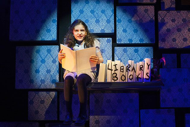 Happy 11th Birthday to Lucy-Mae Beacock, who played Matilda at the Cambridge from September 2012 - May 2013!