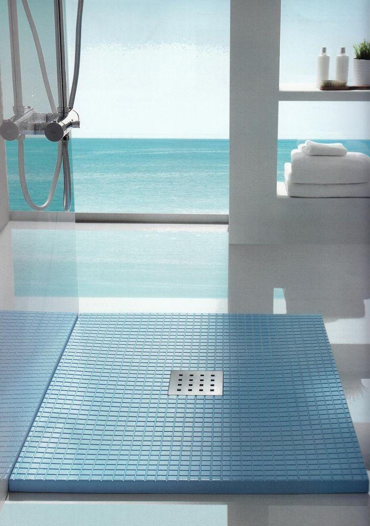 modelo gresite de doccia para platos de ducha cuadrados o plato de ducha