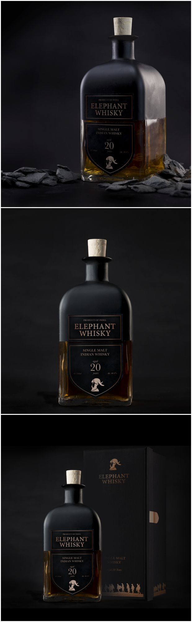 Evelyn Chee - Inspire to Strive: Elephant Whisky #packaging #design #diseño #empaques #embalagens #パッケージデザイン #emballage #bestpackagingdesign #worldpackagingdesign #worldpackagingdesignsociety