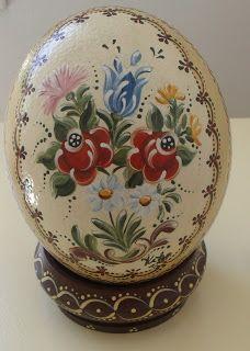 - Kika Pintura em Madeira, Metais e Cuias -: Pintura em Ovos de Avestruz
