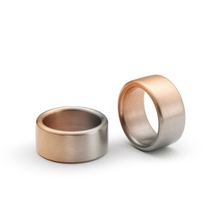 Niessing - Aura Wedding Rings - ORRO Contemporary Jewellery Glasgow - www.orro.co.uk