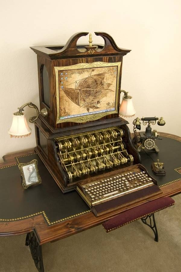 Steampunk PC from Datamancer - Boing Boing
