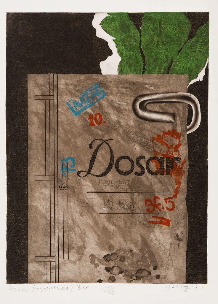 Baász Imre: Dosszié, 1973. © Szépművészeti Múzeum Magyar Nemzeti Galéria