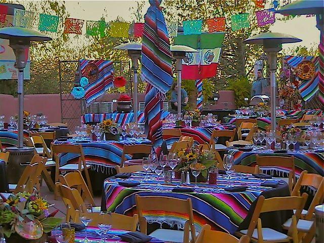 mexican themed wedding mexican themes are popular among sedona corporate groups esmeraldas wedding pinterest centerpieces fiesta decorations and - Mexican Fiesta Decorations