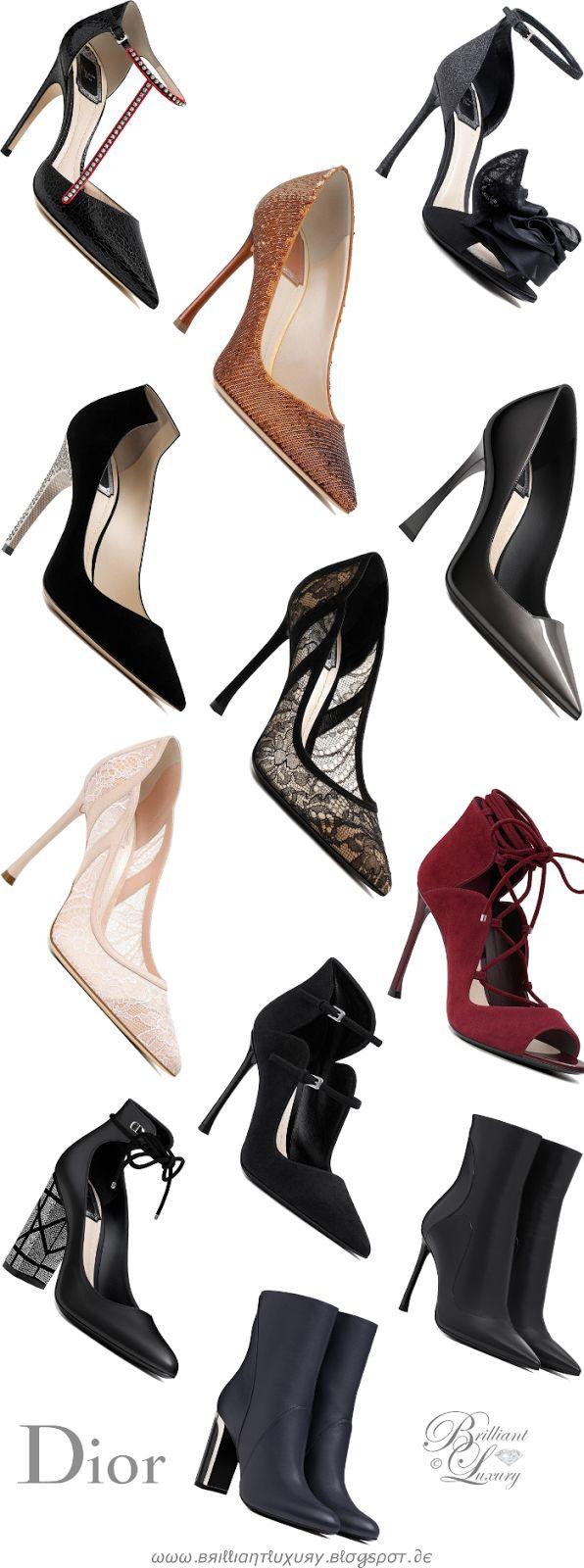 Brilliant Luxury by Emmy DE ♦Dior Shoes AW 2016
