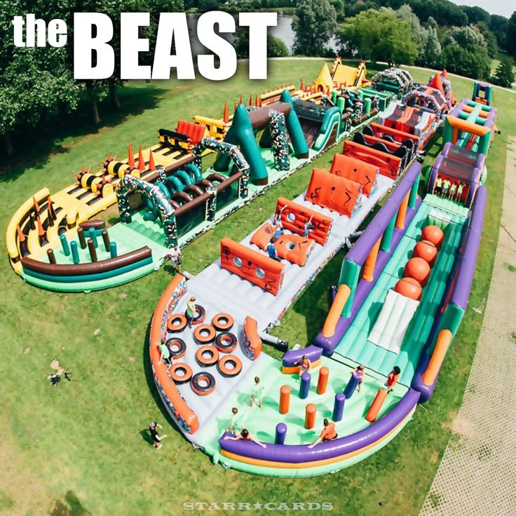 Tallest Inflatable Water Slide In The World: 1000+ Ideas About Inflatable Obstacle Course On Pinterest