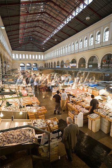 We're going to stock up on some fresh goodies....Central market , Athens  Greece                              …
