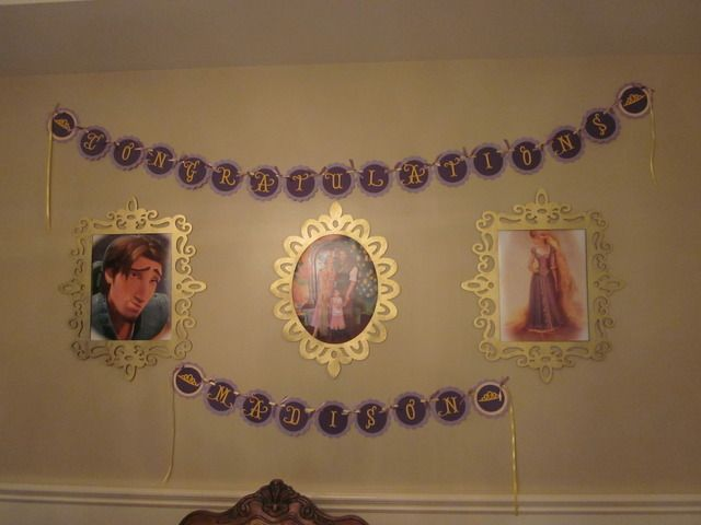 """Photo 66 of 75: Rapunzel/ Tangled/ Princess / Graduation/End of School """"Tangled up in fun: Madison's Preschool Grad party"""" 