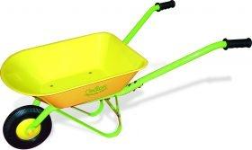 Spielzeug für draußen, hochwertige Kinderschubkarre, gelb, Metall, von vilac, von itkids Online Store
