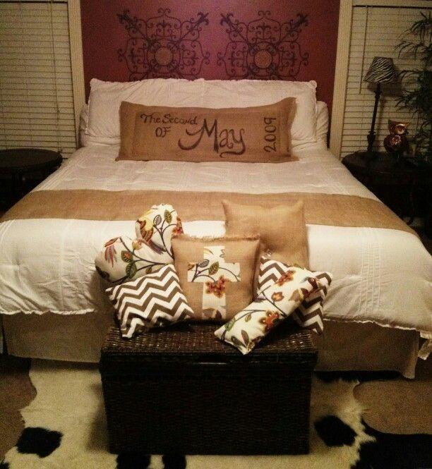 Best 25+ Burlap bedding ideas only on Pinterest | Burlap ...