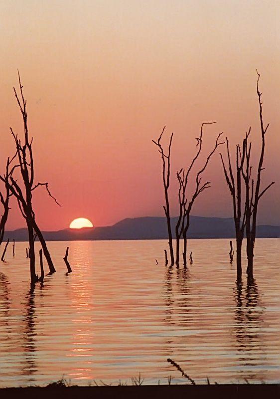 Sunset on Lake Kariba
